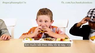 Người Mỹ dở khóc dở cười khi biết sự thật đắng lòng về món ăn mình vừa nếm thử | Hài Mỹ