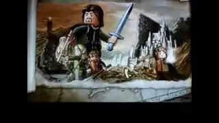 Lego lord of the rings how to get Sauron