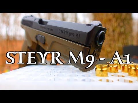 STEYR M9 - A1 REVIEW