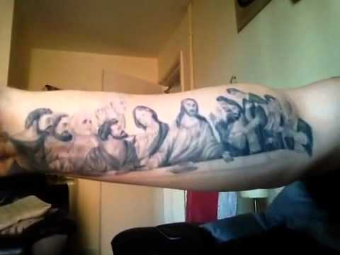 The Last Supper Tattoo