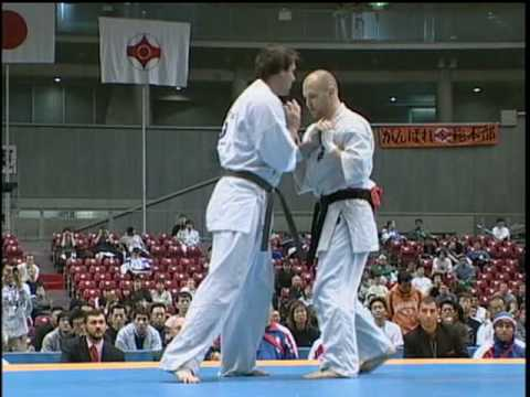 KYOKUSHIN KNOCKOUTS 8th World Open Karate Tournament pt.1