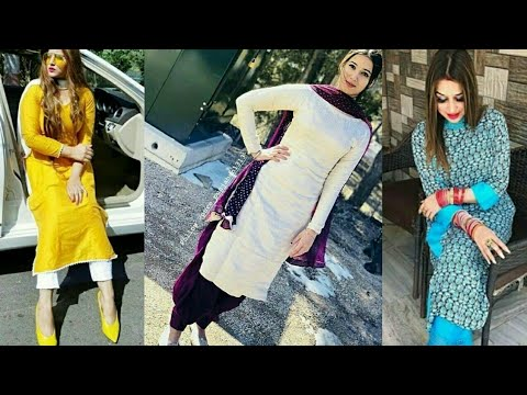 Suit Fashion Trend 2018 //Latest summer suits designs//Latest Suit design//Punjabi Suit designs