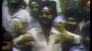 Sikh anger in India about attack at Golden Temple (1984)