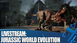 Jurassic World Evolution - Let's build a dinosaur theme park!