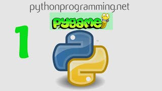 Game Development in Python 3 With PyGame - 1 - Intro