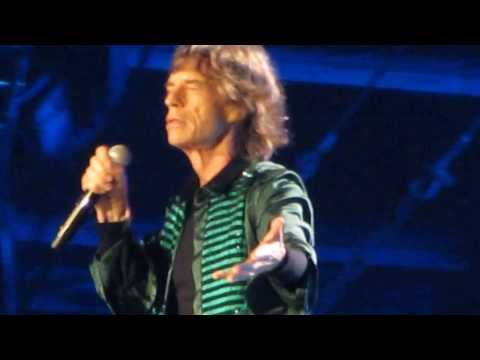 Angie The Rolling Stones Abudhabi 21-2-2014  Jagger Spelling The Emirates Names  video