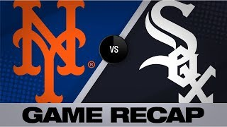 Mets go back-to-back in 11th for the win | Mets-White Sox Game Highlights 7/30/19