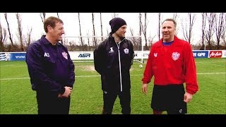 Paul Merson v Matt Le Tissier - Penalty Shootout - The Fantasy Football Club