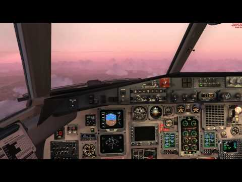 "PMDG Jetstream JS4100 operates Brindabella Airlines flight from Coffs Harbour YCFS (Orbx YSCH) to Brisbane YBBN (Orbx YBBN) during Vatpac's ""Brisbane Iron Mi..."