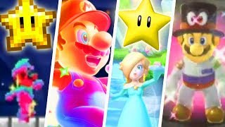 Evolution of Super Stars in Super Mario Games (1985 - 2018)