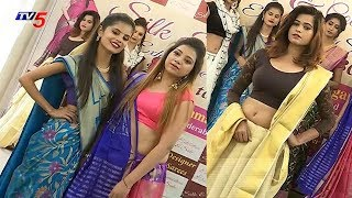 Models Ramp Walk @ Silk And Cotton Expo | Crafts And Weavers Artisans Welfare Association