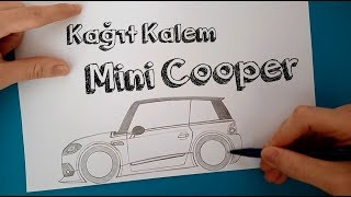 Mini Cooper Çizimi How To Draw A MINI COOPER