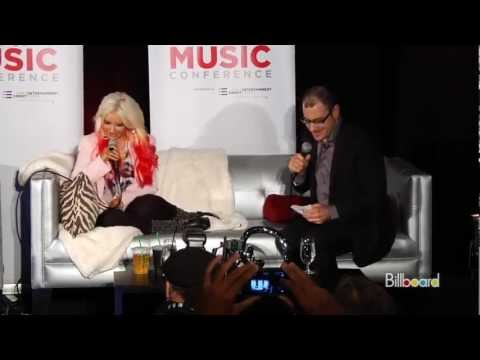 Christina Aguilera Lotus Interview [part 1]