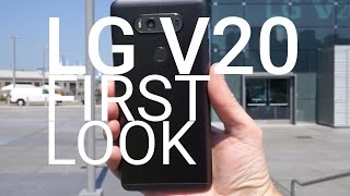 LG V20 First Look and Tour!