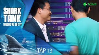 DỰ ÁN TRĂM TỶ ĐIỆN TỬ HOÁ KINH TẾ VIỆT ĐI GỌI VỐN | TẬP 13 [FULL] SHARK TANK VIỆT NAM | VTV 3