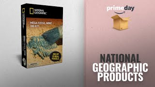 Top National Geographic Dig Kit And Lab Prime Deals: National Geographic Mega Fossil Mine