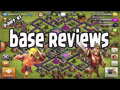 Clash Of Clans greece - Base Reviews - part 1