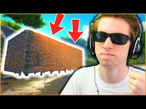 GREATEST HOUSE ON EARTH - ARK: YouTuber Survival #2