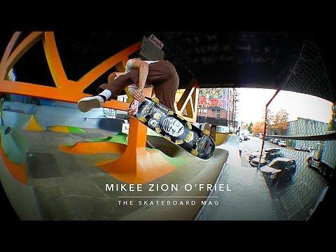 Mikee Zion O'Friel - Skatecrime Skateboards