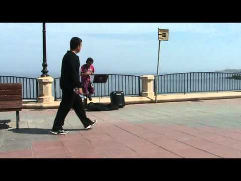 Bruno Mars - Just the way you are ( oboe cover ) street music  Malta, Sliema