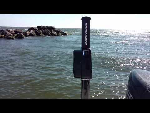 Minn Kota Talon in Rough Water [Redfish Nation]