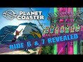 Planet Coaster - Magnificent Rides DLC - Swift Eagles / Hyperjump