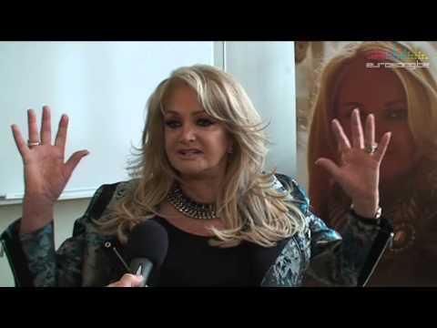 Interview Bonnie Tyler (United Kingdom - Eurovision 2013) in Malm (Part 3 of 3)