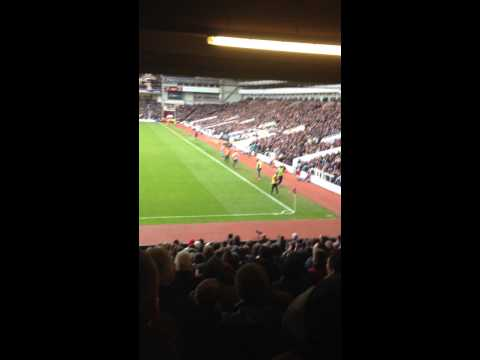 West ham fans ripping it into Peter Odemwingie