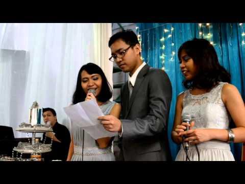 Ulang Tahun Pernikahan ke-25 Om Edu dan Tante Indah