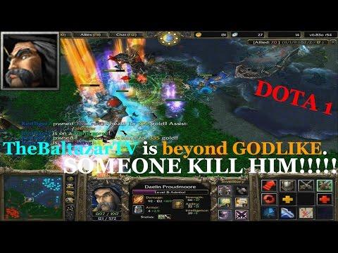KUNKKA HIGH SKILLED GAME - DOTA 1 BEYOND GODLIKE!