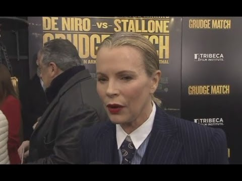 Grudge Match Premiere - Kim Basinger & Sylvester Stallone