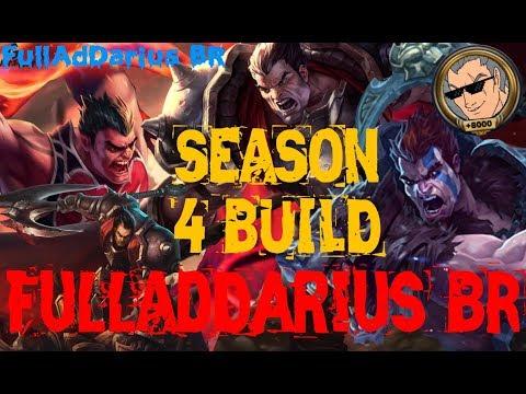 FullAdDarius BR - Darius montage (Season 4 build - Unnoficial Pentakill)