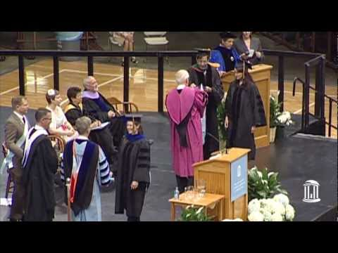 2012 Doctoral Hooding Ceremony | UNC-Chapel Hill