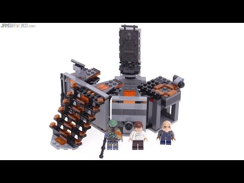 LEGO Star Wars Carbon Freezing Chamber review! 75137