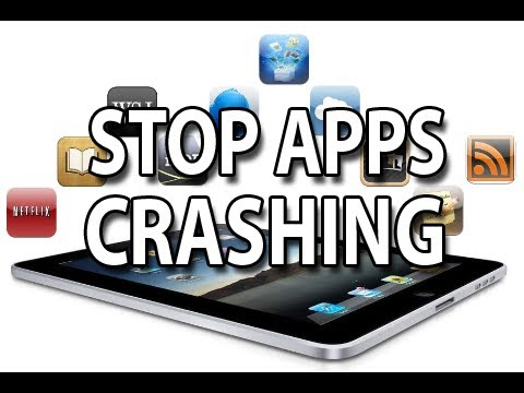 Stop Apps Crashing! iPhone. iPad. iPod Touch [Prevent apps crashing]