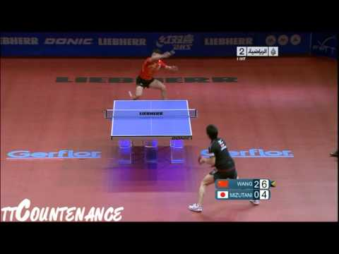 World Cup: Wang Hao-Jun Mizutani