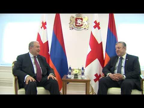 Վրաստանի վարչապետի հետ