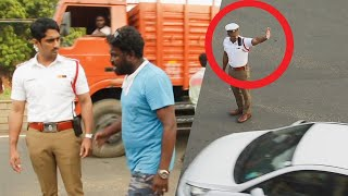 Actor Siddharth turns Real Life Traffic Constable | No One Recognises