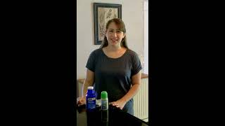 How to remove the ball from a roll-on deodorant bottle