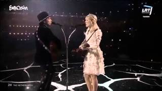 Eurovision 2014 Final The Netherlands The Common Linnets Calm after the storm