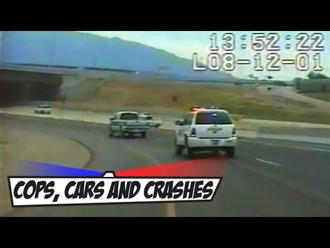 0 Car crashes into bridge at high speed