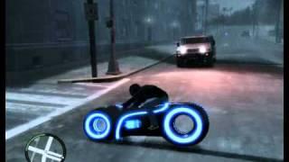 "GTA IV Mod - мотоцикл из фильма ""Трон"".mpg"