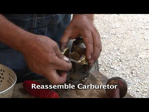 How to Rebuild a Carburetor as part of your Tractor Restoration