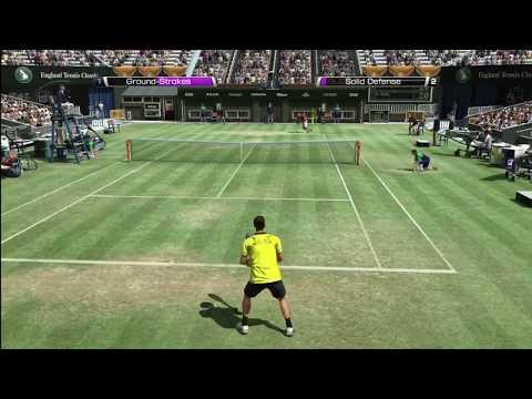 Virtua テニス 4 - Rafael ナダル vs. Novak ジョコビッチ