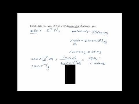Molecule Calculation