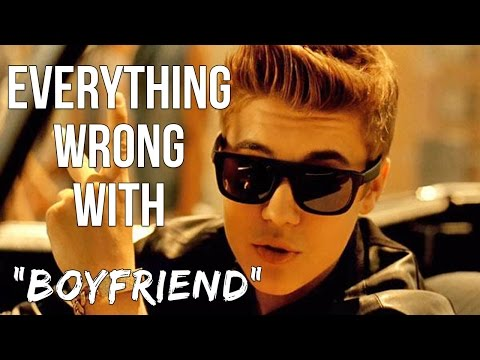 Everything Wrong With Justin Bieber - boyfriend video