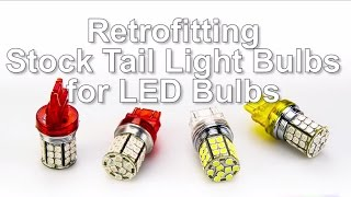 How to Retrofit LED Car Bulbs in Place of Incandescent Stock Bulbs by superbrightleds.com