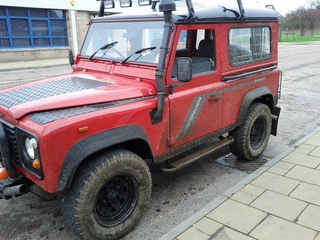 Testing Land Rover Defender Difflock - YouTube