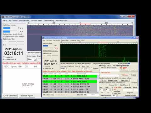 JT65-HF test with a FT-817
