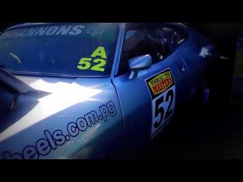 FORD falcon GT XB COUPE racecar 52  IDLING